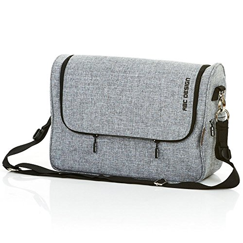 Preisvergleich Produktbild ABC Design 91299701Changing Bag Classic Graphite Grey Wickeltasche Classic, grau