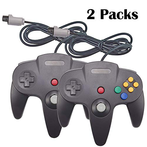 YB-OSANA 2 Packungen Ersatz Upgraded Joystick Classic Wired Controller für Nintendo 64 N64 64-Bit Gamepad Joystick für Ultra 64 Video Game Console N64 System Mario Kart