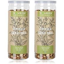 Nourish Organics Omega Seed Mix, 150g (Pack of 2)