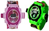COMMON USERS Manpasand toys watch for kids (Multicolor) Set of 2 watches