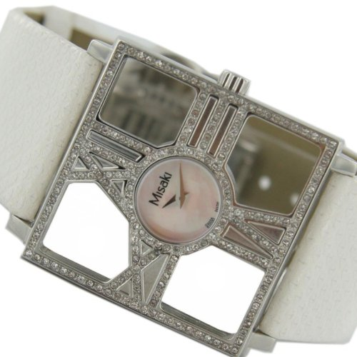 Misaki Analog Quarz Leder Damen-Armbanduhr PCUWDIVA