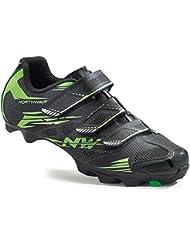 Northwave Scorpius 2 MTB Fahrrad Schuhe schwarz/grün 2016