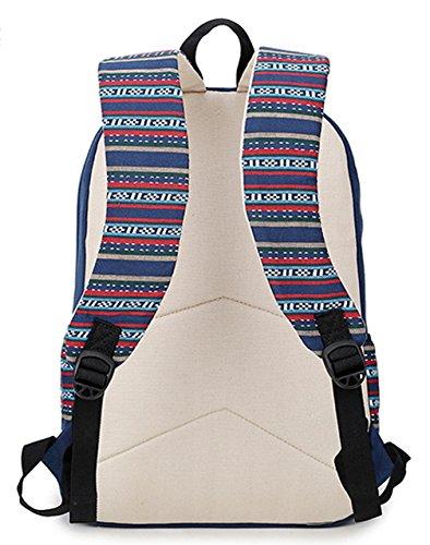 Longzibog Dual verstellbare Schultergurte und H?ngeschlaufenband Mode Damen accessories hohe Qualit?t Einfache Tasche Schultertasche Freizeitrucksack Tasche Rucks?cke Hellblau