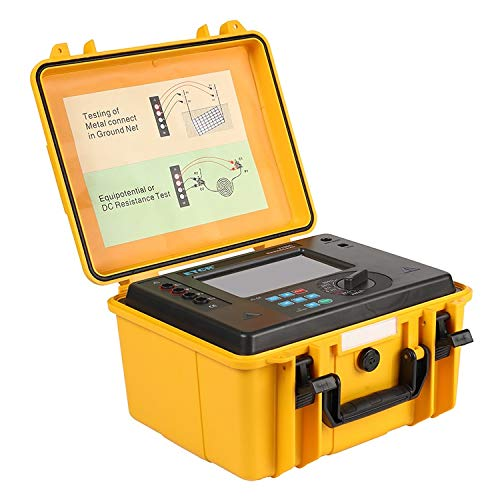 Ywzhushengmaoyi Digitales Tester-Tool ETCR3700C tragbare Stromunterbrecher Kontaktwiderstand Tester Advanced tragbare Erdungswiderstand Tester Industrielles Instrument