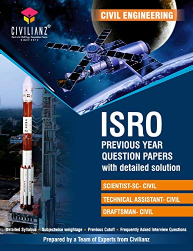 ISRO Previous year Question Papers with detailed solution- Civil Engineering