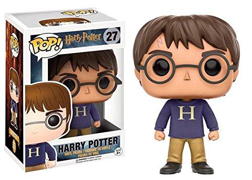 Funko Pop Harry con Jersey Navidad (Harry Potter 27) Funko Pop Harry Potter