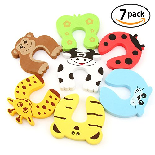 funyoung-children-safety-foam-door-stopper-animal-cartoon-safety-guard-finger-protection-for-childre