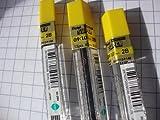 Pentel Bleistiftminen (0,9 mm, 2B), 45 Stück