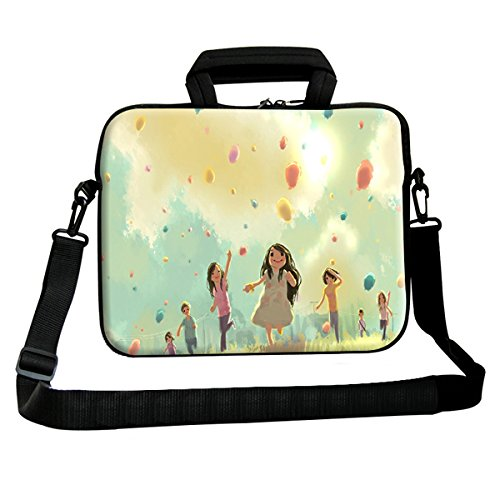 Theskinmantra Children Playing Around messenger bag for 15.6 inch laptop