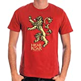 Game of Thrones T-Shirt Lannister Hear Me Roar Size XL CODI shirts