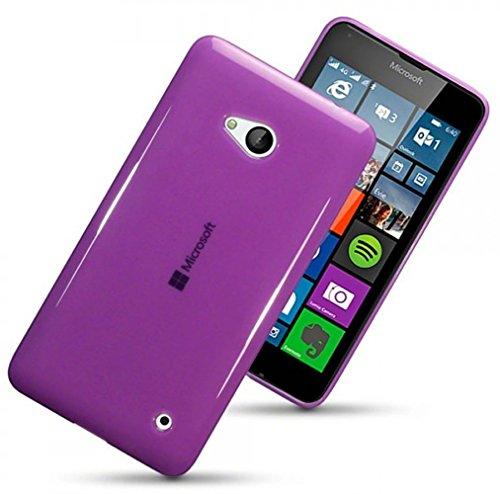 microsoft-lumia-640-case-silicone-gel-the-keep-talking-shopr-purple-semi-transparent-tpu-gel-jelly-r
