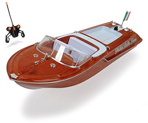 Dickie Toys 201119067 - RC Boat Bella Luisa, funkferngesteuertes Boot mit 30 Metern Reichweite, 45 cm*