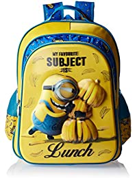 Minion Polyester Multi-Colour School Bag (Age group :8-12 yrs)