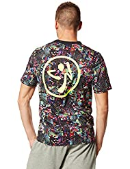 Zumba Fitness Get Hyped Up - Camiseta para hombre