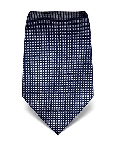 vb-cravatta-a-quadri-uomo-blu-scuro-taglia-unica