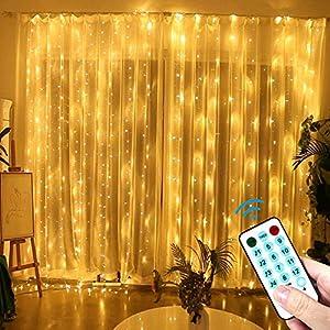 LECLSTAR Cortina de Luces LED
