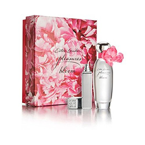 Estee Lauder Pleasures Bloom Gift Set includes Eau de Parfum Spray - 50 ml and Purse - 5 ml
