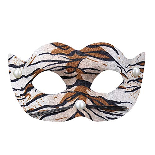 Meigold Halloween Maske Leopard Tiger Maske Party Party Requisiten venezianische Maske