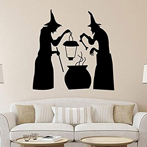 Clode® Halloween Felice Wall Sticker Finestra Della Decorazione Della Casa Della Decorazione Della Decalcomania