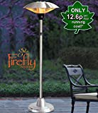 Firefly 2.1kW Adjustable Free Standing Electric Infared Halogen Outdoor Patio Heater