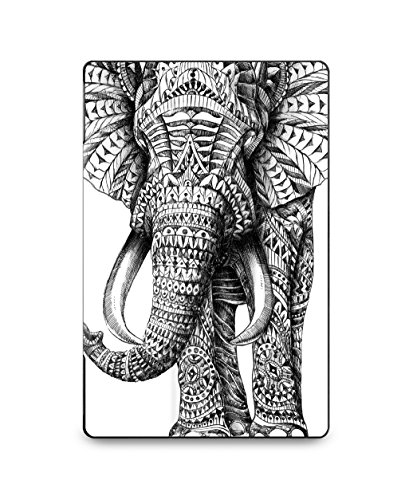 caseable - Étui pour Fire (tablette 7 pouces, 5ème génération - modèle 2015), Paris Ornate Elephant