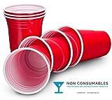 Ruby-GDS100A16-Vasos-de-fiesta-desechables-455-ml-color-rojo-Pack-de-50