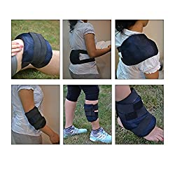 Cold / Hot Gel Packs with Belt. Multipurpose usage: Knee/ Back/ Elbow/ Shoulder/ Leg/ Ankle.