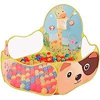 LAAT Tienda de juguetes para niños Piscina portátil al aire libre de la bola del océano (No incluyas la pelota)