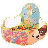 Dosige Babypool Bällebad Bällepool Spielzelt Kinderzelt Babyzelt Pop-Up Zelt Spielhaus Bällebad 120*120cm