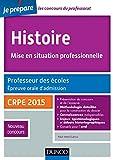 Image de Histoire Professeur des écoles Oral admission : CRPE 2015 (Concours e