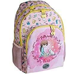 Busquets Mochila Escolar Doble Pretty by