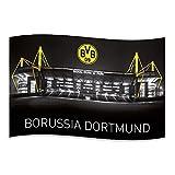 "BVB Borussia Dortmund Fahne / Hissfahne "" Signal Iduna"" mit Ösen"
