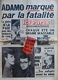 Telecharger Livres ICI PARIS No 1214 du 01 10 1968 ADAMO MARQUE PAR LA FATALITE LA GLOIRE JE LA PAIE AVEC DES LARMES ET DU SANG CHAQUE ETE UN DRAME MOCOACCABLE GILLES SE TUE SUR LA ROUTE LES VOITURES ROUGES ME PORTENT MALHEUR SALVATORE A JURE COCOETAIT MON FRERE SES ENFANTS SERONT LES MIENS MAURICE BIRAUD SACRIFIE SA FEMME SANS SON MICRO BIBI DEVENAIT FOU IL EN AVAIT PERDU LE SOURIRE FRANCOISE A RECUPERE UN MARI AIMABLE IL RETROUVE SES PETITES CHERIES MARYSE A PRIS LA PLACE DOCOANN (PDF,EPUB,MOBI) gratuits en Francaise