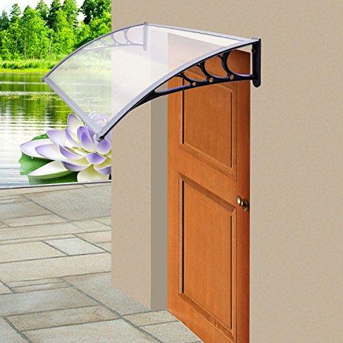 Parkland Marquesina Toldo Refugio delantera y trasera Porche exterior lámpara patio techo & Door canopy der beste Preis Amazon in SaveMoney.es