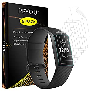 PEYOU Fitbit Charge 3 R.HB
