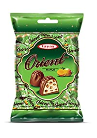 Tayas Orient Mango Flavour Imported Chocolate - 800 gm (80 to 100 pcs Approx) - Shipping Free