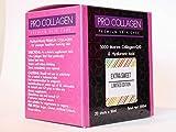 Limited Edition   EXTRA SÜSS   5000mg Marine Collagen   Hyaluronsäure   Q10 Liquid Supplement Shots von ProNutriWorld-Premium Hautpflege für Männer und Frauen