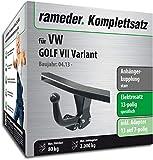 Rameder Komplettsatz, Anhängerkupplung starr + 13pol Elektrik für VW Golf VII Variant (150666-11221-1)