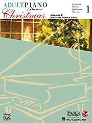 Adult Piano Adventures Christmas - Book 1 Book & Online Audio by Nancy Faber (2010-08-01)