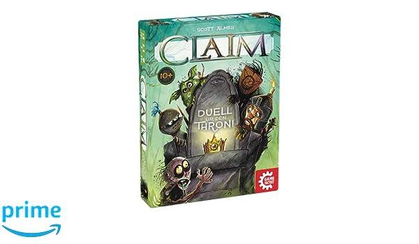Gamefactory Claim Jouets Pour Enfants Jeux Jeu de Société Cartes