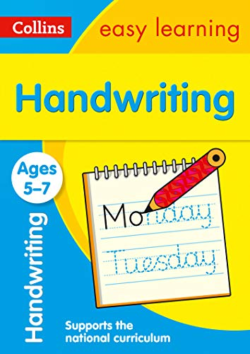 Handwriting Ages 5-7: easy handwriting activities for year 1 and year 2 (Collins Easy Learning KS1)
