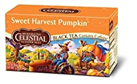 Celestial Seasonings Holiday Pumpkin Pie Black Tea, 20 Count (Pack of 6)