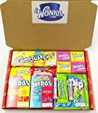 Wonka Retro American Sweets and USA Candy Box by Dolci Di...
