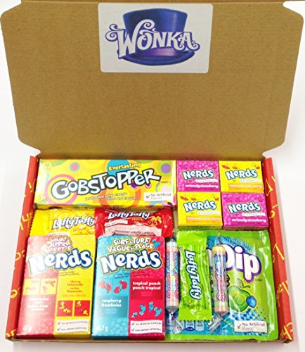Wonka Retro sweets box by Dolci Di Lechlade