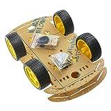 Smart car a 4 ruote per chassis robot con encoder Speed e Tacho per kit robot Arduino Raspberry Pi