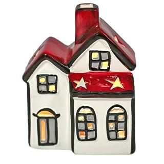 Windlicht Haus, Laterne, Lichthaus, Teelichthalter, Weihnachten, Deko Haus
