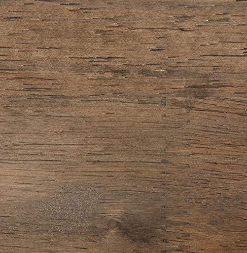 Spectrum Diversified Vintage Double Bin with Wood Shelf Wall Mount Storage, Industrial Gray