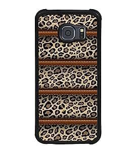 FUSON Leopard Seamless Pattern Designer Back Case Cover for Samsung Galaxy S6 Edge+ :: Samsung Galaxy S6 Edge Plus :: Samsung Galaxy S6 Edge+ G928G :: Samsung Galaxy S6 Edge+ G928F G928T G928A G928I