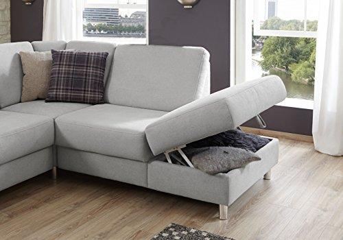 WINSTONO Wohnlandschaft mit Bettfunktion in U-Form Sofa mit Schlaffunktion