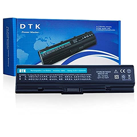 Dtk® Ultra Hochleistung Notebook Laptop Batterie Li-ion Akku für TOSHIBA